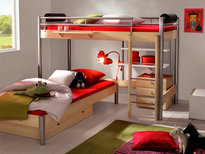 kinderzimmer kinderbetten shop bei mein kinderzimmer. Black Bedroom Furniture Sets. Home Design Ideas